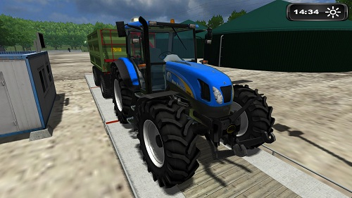 New Holland TS 135 Reflective